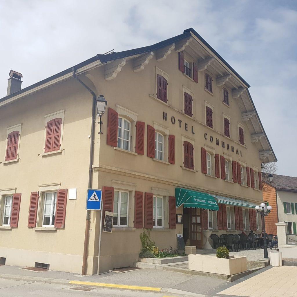 Hôtel communale de Ballens - Extérieur